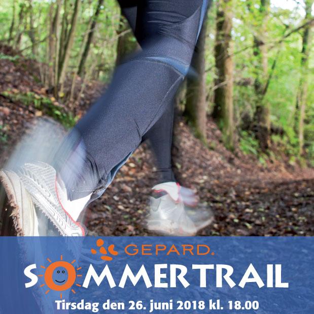 GEPARD SommerTrail 2018 - Kom med til Trailløb i Pilbrodalens bakker!