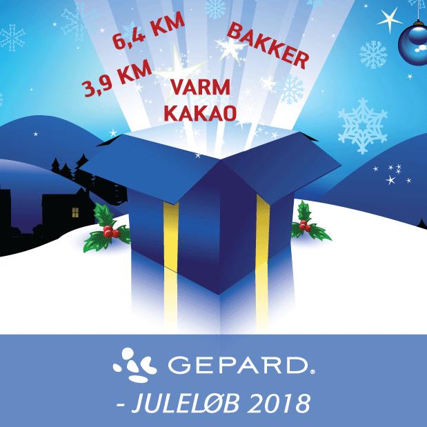 GEPARD Juleløb 2018 - Kom med til Juleløb i Pilbrodalens bakker!
