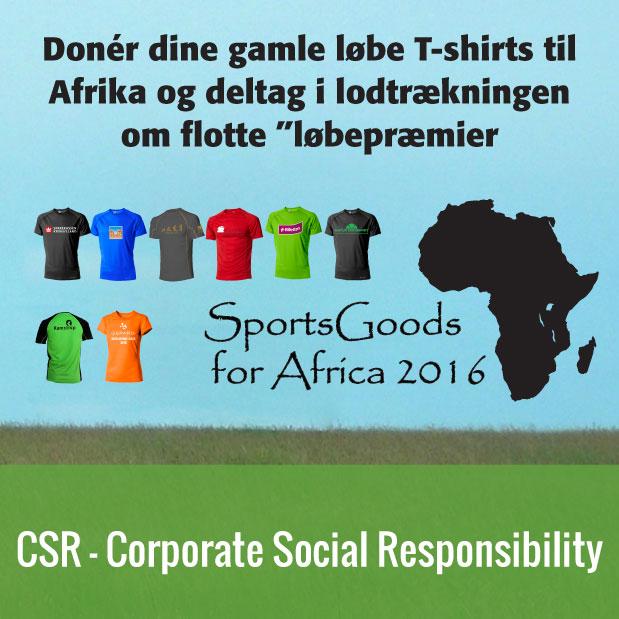 CSR - Sportsgoods for Africa
