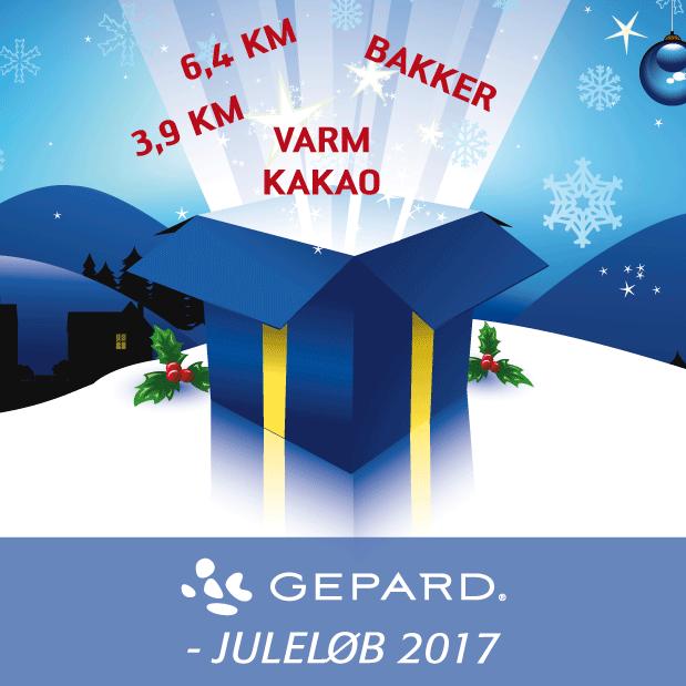 GEPARD Juleløb 2017 - Få brændt Julefedtet af