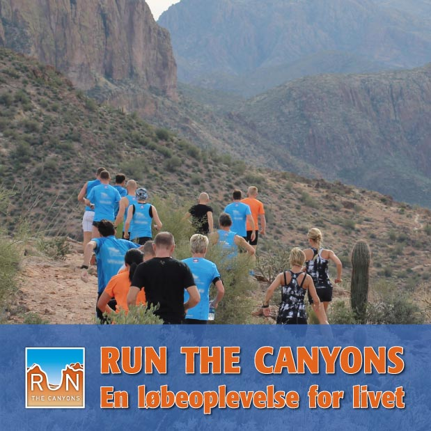 RUN the Canyons - En løbeoplevelse for livet