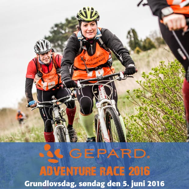 GEPARD Adventure Race 2016 - 5. juni 2016