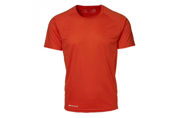 GEYSER Løbe T shirt Man Active, Orange