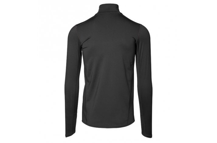 GEYSER Man Warm Trainer, Langærmet t shirt, Sort
