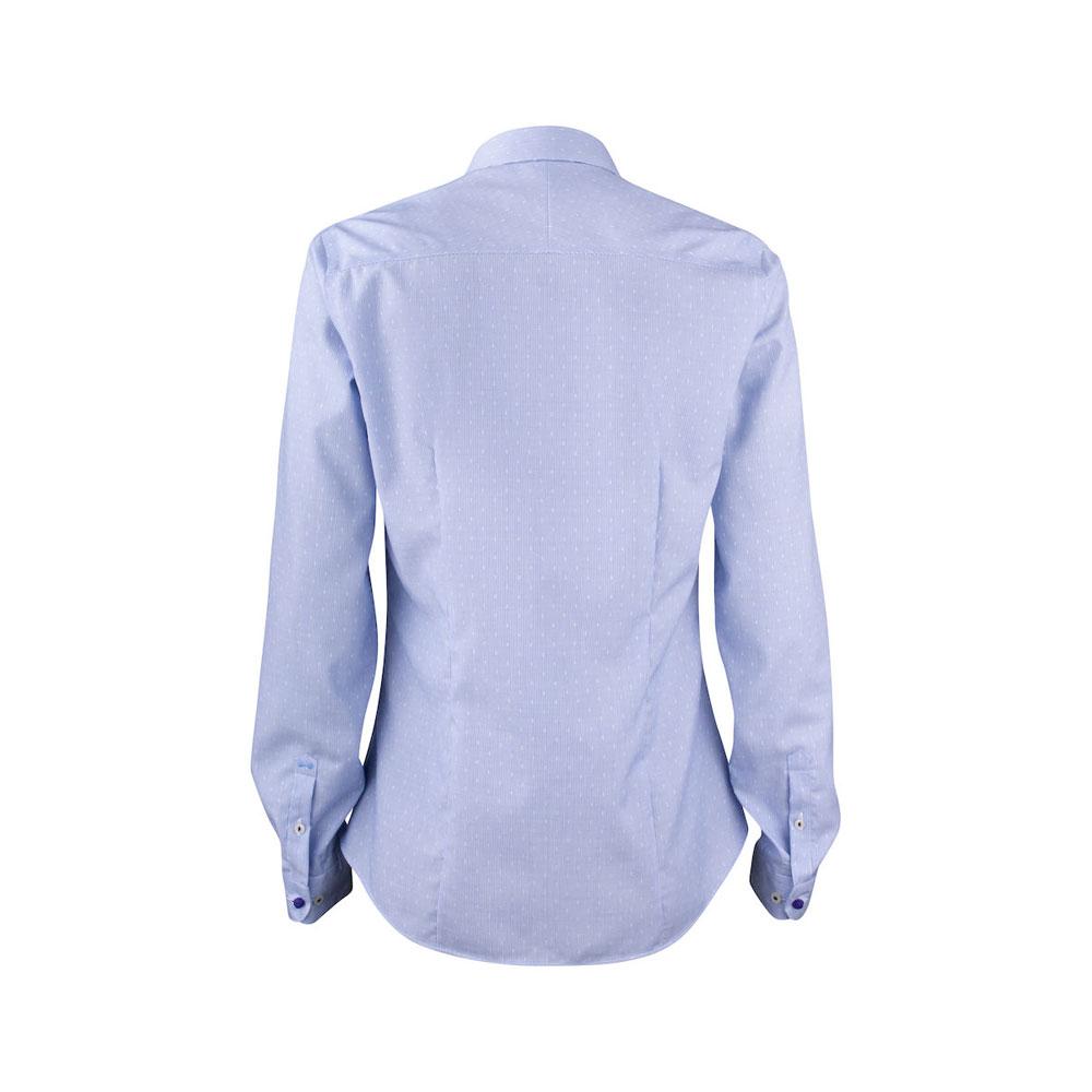 1e215508 J. Harvest & Frost Purple Bow 140 Skjorte Dame - Dame Skjorter - J ...