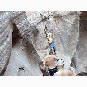 RUN the Canyons Løberejser - Zebra Slot Canyon, Utah
