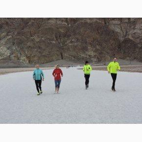RUN the Canyons Løberejser - Death Valley - Løb på saltflager