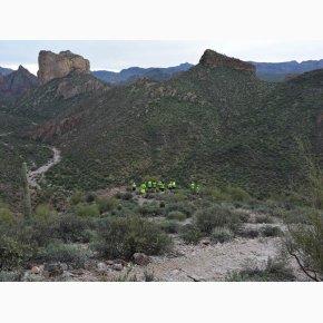 RUN the Canyons Løberejser - Superstition Mountains - Fantatiske bjerge
