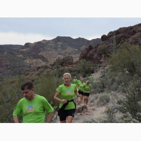 RUN the Canyons Løberejser - The Superstitions - Superstition Mountains