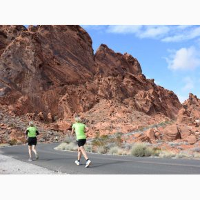 RUN the Canyons Løberejser - Valley Of Fire, Nevada