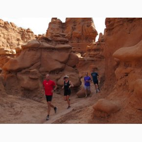 RUN the Canyons Løberejser - Goblin Valley State Park, Utah, Juni 2017