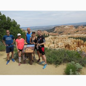RUN the Canyons Løberejser - Bryce Canyon, Utah, Juni 2017