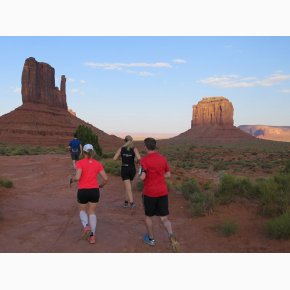 RUN the Canyons Løberejser - Monument Valley, Utah, Juni 2017