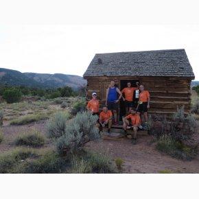 RUN the Canyons Løberejser, Morrell Line Cabin, Utah, September 2017