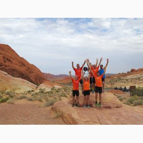 RUN the Canyons Løberejser, Valley Of Fire, Nevada, September 2017