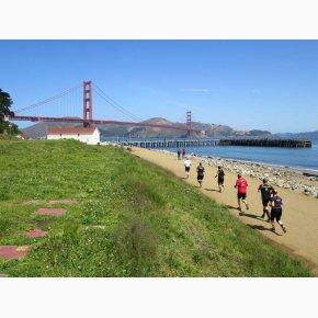 RUN the Canyons Løberejser, San Francisco & Golden Gate Bridge