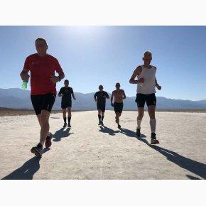RUN the Canyons Løberejser, Death Valley National Park, Løb på sandflager