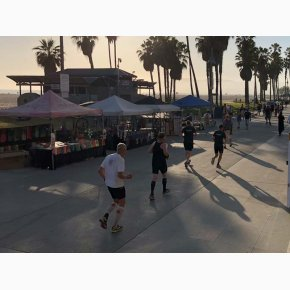 RUN the Canyons Løberejser, Los Angeles, Santa Monica Beach og Venice Beach