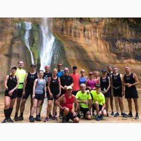 RUN the Canyons Løberejser, Lower Calf Creek Falls