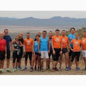 RUN the Canyons Løberejser - King Canyon Trail, tid til pause og gruppebillede