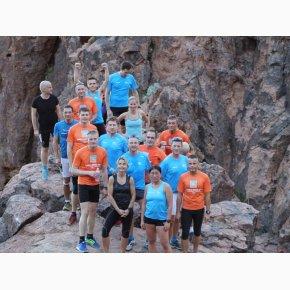 RUN the Canyons Løberejser - Lost Dutchman State Park, Sjovt men krævende trail