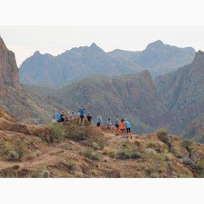RUN the Canyons Løberejser - Superstition Mountains, fantastisk udsigt