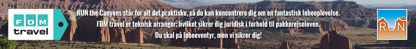 Run The Canyons L�berejser, FDM Travel