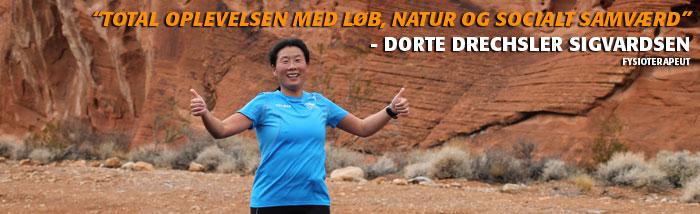 Løberejse med total oplevelsen med, løb, natur og socialt samværd