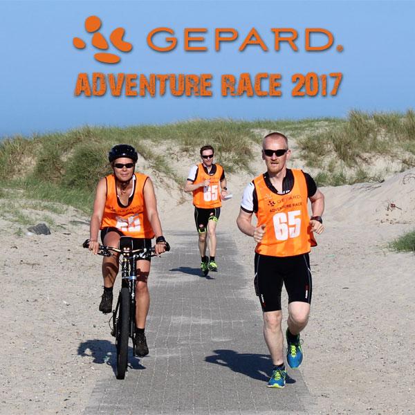 GEPARD Adventure Race 2017 Grundlovsdag, 5. juni Challenge distancen