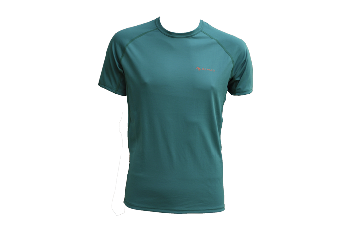 GEPARD Løbe T shirt, Herre, Mørke Grøn