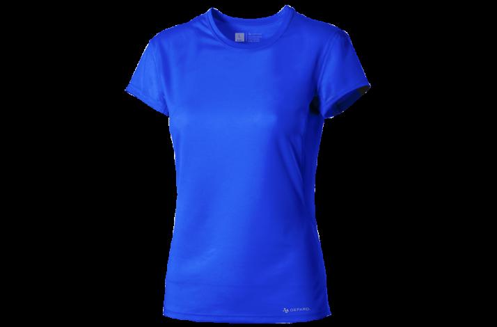 GEPARD Løbe T-shirt, Dame, Azurblå