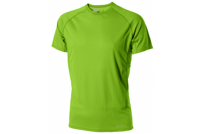 GEPARD Løbe T shirt, Herre, Æblegrøn