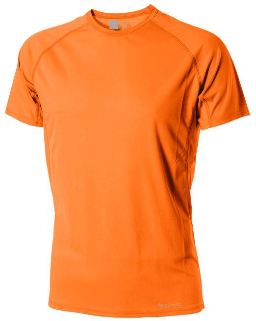 GEPARD Løbe T shirt, Herre, Orange